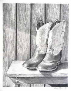 Shereen's Boots